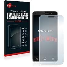 Savvies® Protector Cristal Templado para Vodafone Smart Prime 6 - Protector Pantalla Vidrio, Dureza 9H