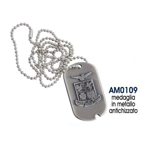 giemme Werbematerial Halskette Metall Emblem Militär Official Merchandise Executive Geschenk