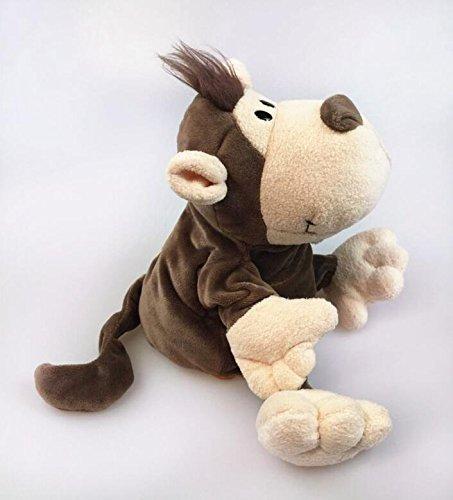Ideale come festa dei bambini scimmia animal hand puppets giocattoli educativi artigianato per bambini monkey puppet peluche giocattoli che raccontano la storia