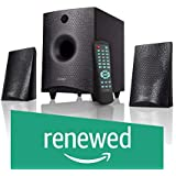 (Renewed) F&D F210 X 2.1 Channel Multimedia Bluetooth Speakers (Black)