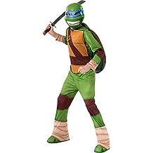 Nuevo–Leonardo de las Tortugas Ninja mutantes tortugas Ninja disfraz de niños