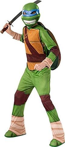 Teenage Mutant Ninja Turtles Enfants Costume - Déguisement de Leonardo des Tortues Ninja