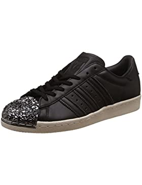 Adidas Superstar 80's 3d Metal Toe Damen Sneaker Schwarz
