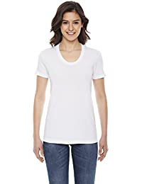 American Apparel Poly-coton à manches courtes Tee femmes