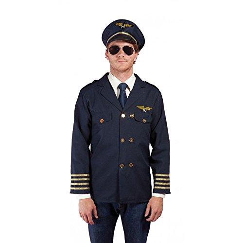 Treiber Kostüm - P 'tit Clown 28052Kostüm Erwachsene Treiber der Air-Einheitsgröße-Blau