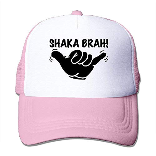 575c5444 quanzhouxuhuixiefu Shaka Brah Greeting Hang Loose Adult Adjustable Trucker  Mesh Hat Baseball Cap