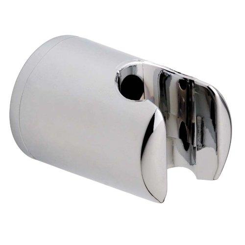 tesa nie wieder bohren SP012 SPAA Wandbrausehalter, 4 x 4 x 5.5 cm (LxBxH), verchromt inklusive Befestigungstechnik