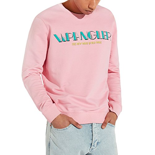 Preisvergleich Produktbild Wrangler W6561HPWF Sweatshirts Mann Rosa M