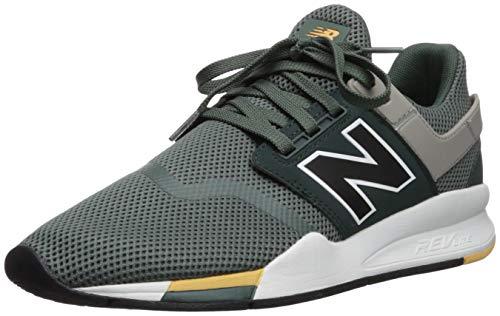 top fashion 9fcc6 57fa9 New Balance 247v2 Baskets mode, Vert (Faded Rosin Black FA), 43