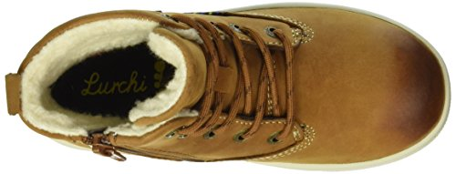 Lurchi Jungen Doug-Tex Combat Boots Mehrfarbig (tan tabacco 47)