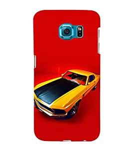 EPICCASE camero Mobile Back Case Cover For Samsung Galaxy S6 Edge (Designer Case)