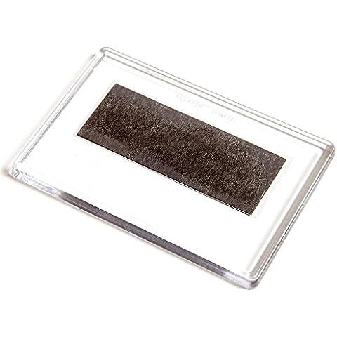 Magneti per il frigorifero trasparenti per contenere foto misura 70x45 mm pacco da 30 pezzi