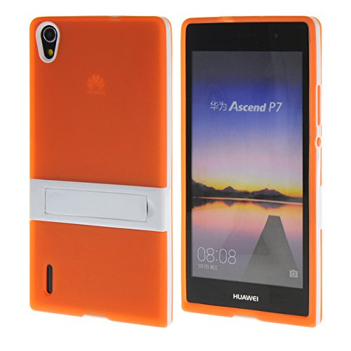 MOONCASE Huawei P7 Case Jelly color Silicone Gel TPU Skin Slim ...