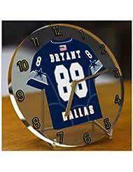 NFL liga nacional de fútbol relojes de escritorio–NFC EAST fútbol americano Jersey relojes–cualquier nombre, cualquier número, cualquier equipo, mujer hombre Infantil, DALLAS COWBOYS