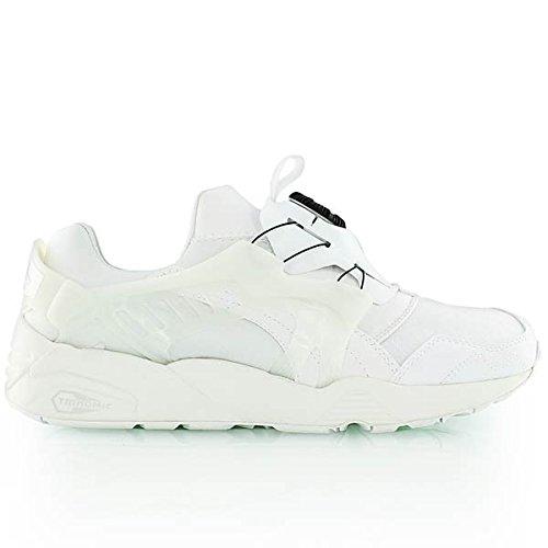 puma-disc-blaze-mens-textile-trainers-white-white-10-uk