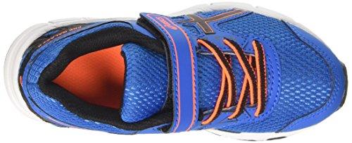 Asics Pre Galaxy 9 Ps, Scarpe da Ginnastica Unisex – Bambini Blu (Directoire Blue/Black/Hot Orange)