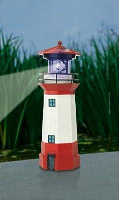 """TV Unser Original solarzauber Leuchtturm """"Strandlicht"""" mit LED-Leuchtfeuer 08617 von TV Unser Original"""