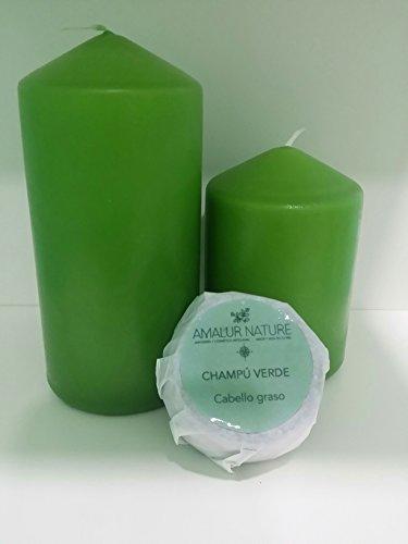Preisvergleich Produktbild Shampoo SSD grün – Öliges Haar Dermatitis,  oder mit Narben – geeignet für Bart