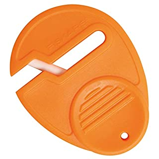 Fiskars Universal Scissor Sharpener, For Right- and Left-handed People, Ceramic grinding heads/Plastic casing, Orange, 1003871 (B0002JT0PK) | Amazon price tracker / tracking, Amazon price history charts, Amazon price watches, Amazon price drop alerts