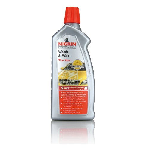 Nigrin 73878 Performance - Turbo Shampooing et Cire