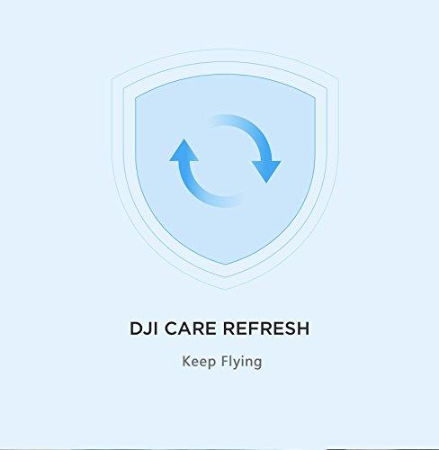 DJI CP.QT.000846 Carte d'Assurance Care Refresh pour Inspire 2 Blanc
