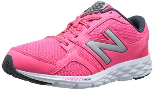 New Balance W490Lp3 - Entrenamiento/correr de sintético para mujer, Fucsia, 37.5