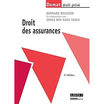 Droit des assurances, 2ème Ed.