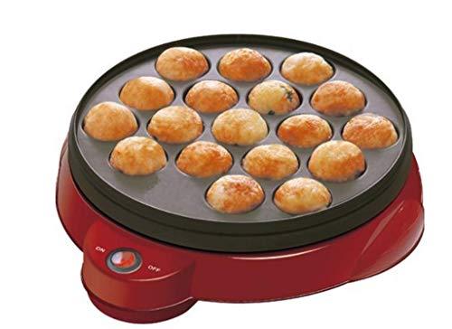Krakenballmaschine mit 18 Löchern für elektrische Takoyaki-Maschine, 220V-240V -
