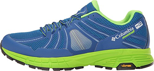Columbia Mojave Trail Outdry - Chaussures de running - vert/bleu 2017 super blue/white