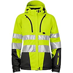 Projob 646424–11–9–Cazadora forrada Dame- alta visibilidad, talla 3X L, amarillo/negro