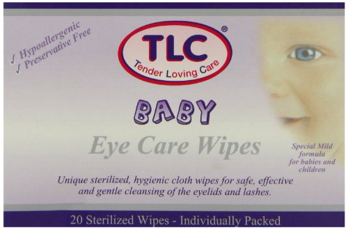 TLC Baby Eye Care Sterilized - Pack of 20 Wipes