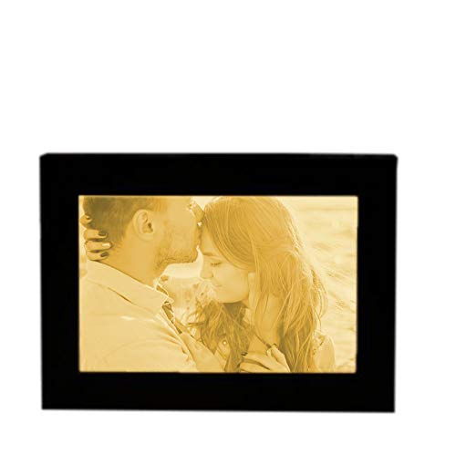 Personalisiertes 3D Picture Frame Engraved Photo with Light Night Light for Desk or Wall