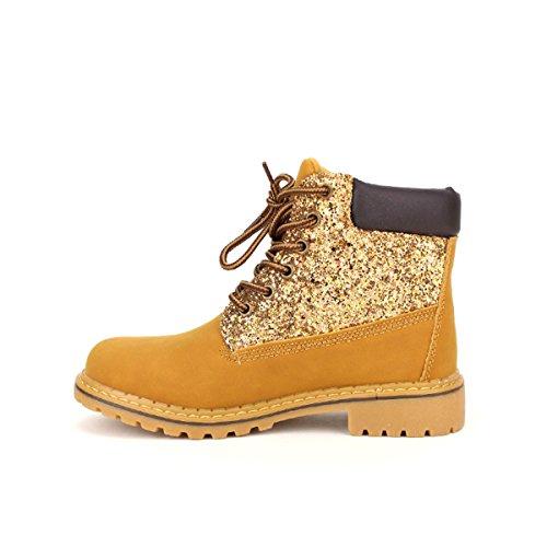 Cendriyon Bottine Camel Campers Ops Chaussures Femme Caramel