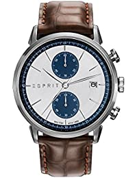 Esprit Herren-Armbanduhr TP10918 LIGHT BROWN Chronograph Quarz Leder ES109181001