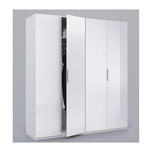 Habitdesign MAX054BO - Armario 4 puertas