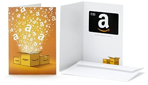 Amazon.co.uk Gift Card - In a Greeting Card - £30 (Amazon Boxes)