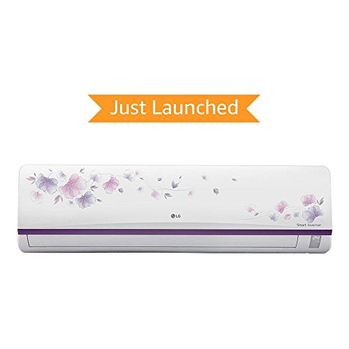LG 1 Ton 3 Star Inverter Split AC (Aluminium, JS-Q12AFXD, White) with free standard installation*