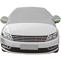 Winkey Ice Protection Foils Car Windshield Snow Cover Sun Shade Protector Thicker Protector Silver,No Magnetic 240x148cm