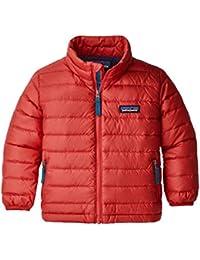 Patagonia Baby Down Sweater Abrigo, Bebé-niños, Fire, 2T