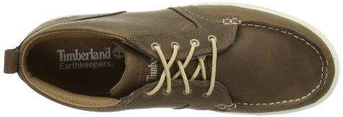 Timberland Newmarket_Fulk LP Chukka MT Leather, Herren Chukka Boots, Braun (Toasted Coconut Light Brown), 44.5 EU -