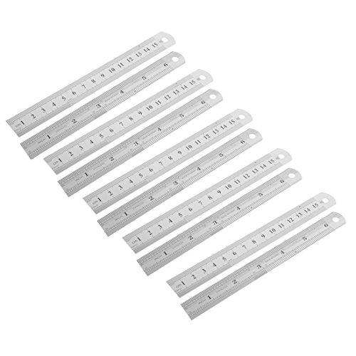 estudiantes-gris-acero-inoxidable-15-cm-1524-cm-sodexo-y-regla-de-albanil-10-piezas