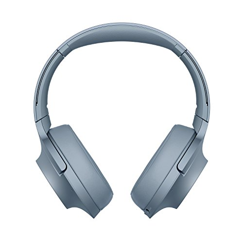 Sony WH-H900N High-Resolution Kopfhörer, Kabelloser, Noise Cancelling, blau Sony Noise Canceling Headset