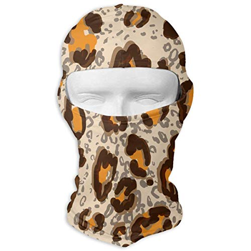 Tiger Leopard Print Balaclava Clouds Full Face Masks Ski Headcover Motorcycle Fashion Mask Multicolor7 (Mask Tiger Online)
