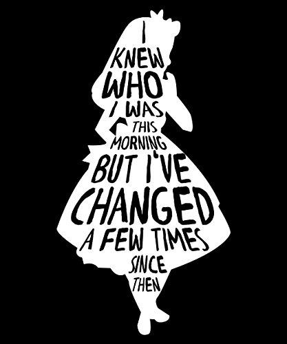 -- Alice Changed -- Girls Kapuzenpullover Schwarz