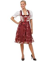Adelstrachten Dirndl KF012 Größe 36 mit Bluse und Schürze 3 teilig Oktoberfest