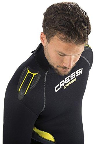Castro Neoprenanzug, schwarz/gelb/grau - 4