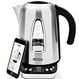 Appkettle Smart Kettle | Stainless Steel Jug App Controlled | Wireless Temperature Control | 1.7L | Works with Alexa | 2400W