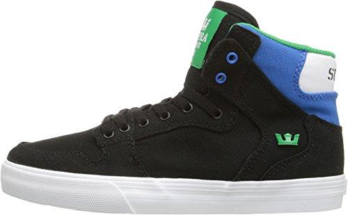 Chaussures Vaider Black/Royal Jr - Supra Noir