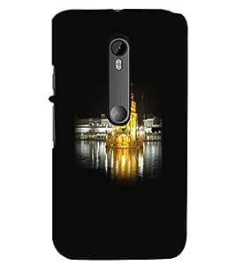 PrintDhaba Golden Temple D-1268 Back Case Cover for MOTOROLA MOTO G3 (Multi-Coloured)
