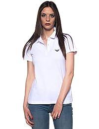 50e7b79697738 Emporio Armani Women s Polo Shirt White Bianco
